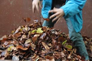 permaculture enfants ados paillage