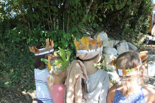 permaculture enfants automne